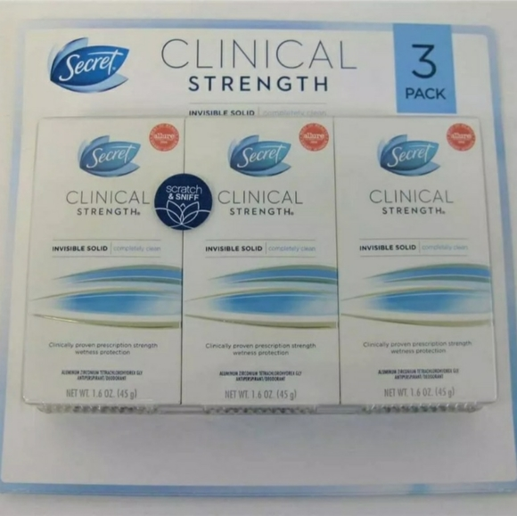 Secret Other - 3 ~ Secret Clinical Invisible Solid Deodorants